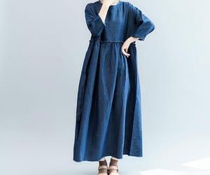 etsy, women dress, and floor length dress image