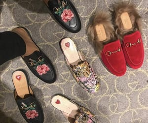 gucci, shoes, and loafers image