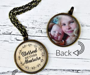 handmade, jewelry, and necklace image