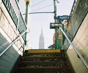 aesthetic, building, and empire state building image