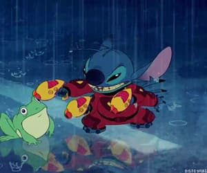 disney, frog, and rain image