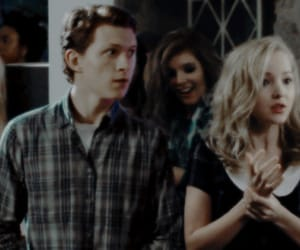 manip, tom holland, and dovecameron image