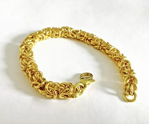 etsy, vintage jewelry, and woven bracelet image