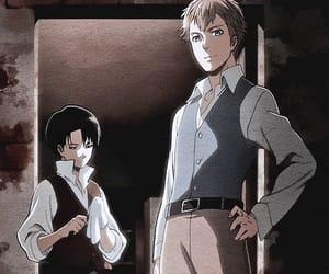 anime, levi, and manga image