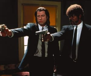 pulp fiction, quentin tarantino, and samuel l jackson image