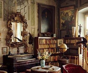 classic, decor, and living room image