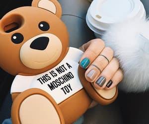 case, nails, and bear image