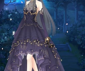 anime, royal, and dress up diary image