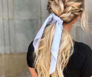 baby blue, beautiful, and blonde image