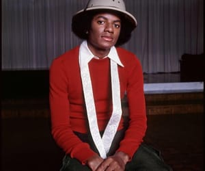 Afro, mj, and king of pop image