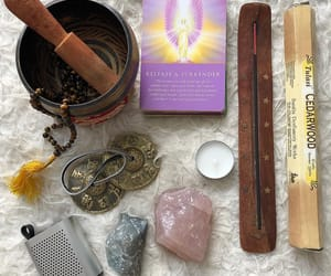 chakras, crystals, and hippie image