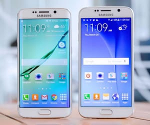 smartphone, mobile device, and samsung galaxy s6 image