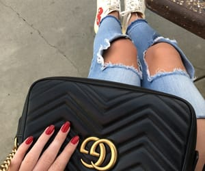 bag, luxe, and nails image
