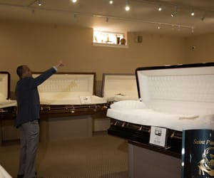 funeral, funeral home, and funeral services image