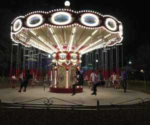 carousel, lovely, and cute image
