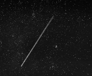 aesthetic, pretty, and shooting star image
