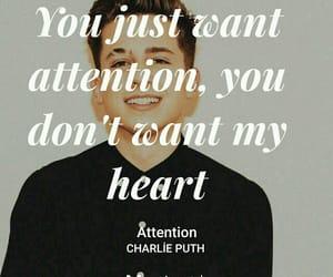 charlie puth, Lyrics, and music image