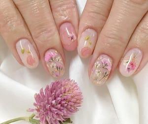 art, nails, and girly image