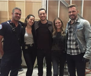 chicago fire, patrick flueger, and taylor kinney image