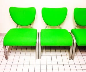 chairs, green, and lime image