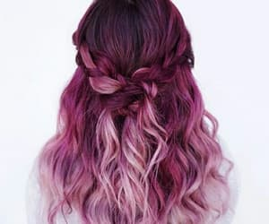 pink and pink hair image