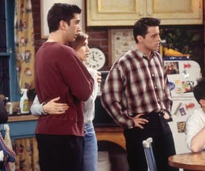 David Schwimmer, joey tribbiani, and ross geller image