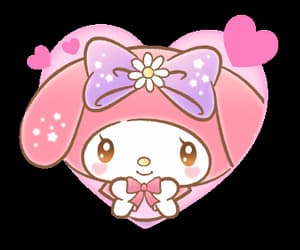 bunny, my melody, and gif image