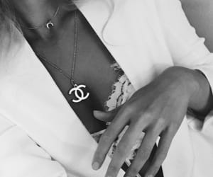 chanel, classy, and necklace image