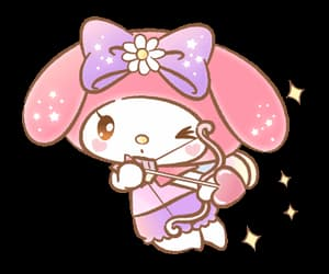 bunny, my melody, and cupid image