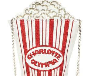 fashion, handbag, and popcorn image