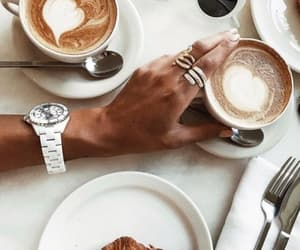 breakfast, coffee, and inspiration image