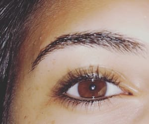 brown eyes, eyes, and broken soul image