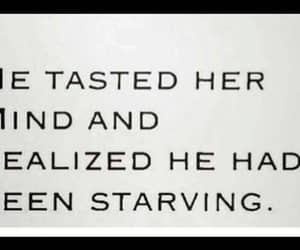 realize, starving, and taste the mind image