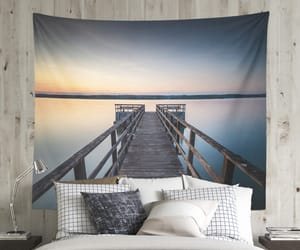 home decor, tapestry, and wanderlust image