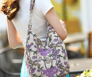 canvas, handbag, and shoulder bag image