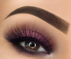 eye, eyeshadow, and makeup image