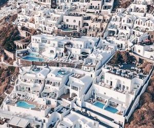 Greece, city, and santorini image