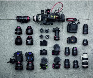 camera, canon, and inspiration image
