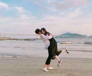 couple, korean, and ulzzang image