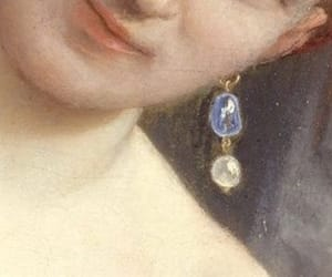 art, detail, and earring image