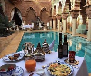 luxury, food, and pool image