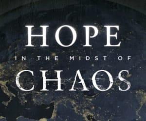 chaos, hope, and quote image
