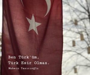 türk bayrağı, ne mutlu turkum diyene, and türkçe sözler image