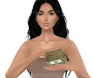 art, dollars, and gif image