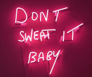 baby, neon, and neon sign image