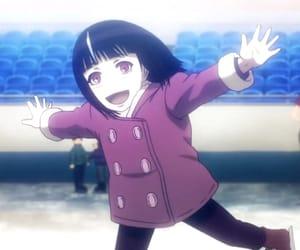 manga, purple eyes, and death parade image