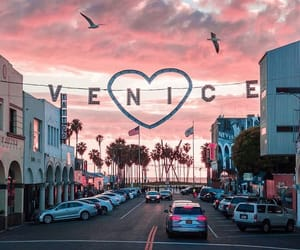 venice, city, and pink image