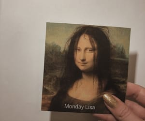 aesthetic, art, and mona lisa image