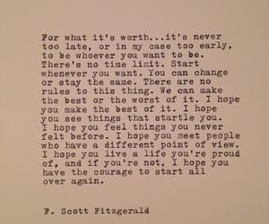 believe, poems, and f. scott fitzgerald image