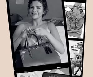 coach, selena gomez, and fashion image